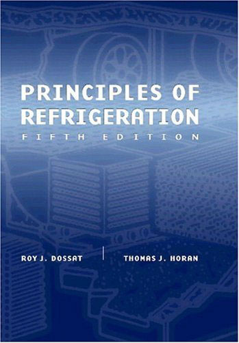 'Principles of Refrigeration' - обложка...